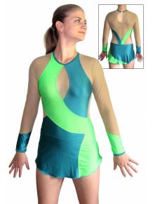 Dres na moderní gymnastiku - trikot M909fx2