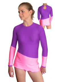 Dres na moderní gymnastiku - trikot M901f2x