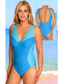 Dámské plavky jednodílné s kosticemi P616fx