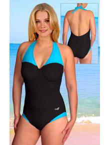 Dámské plavky jednodílné s kosticemi P617xL_08+21