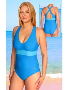 Dámské sportovní plavky jednodílné P614fx