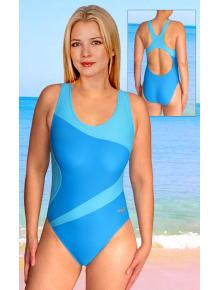 Dámské sportovní plavky jednodílné P611fx