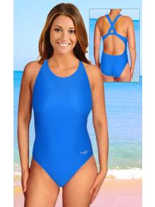 Dámské sportovní plavky jednodílné P621fx