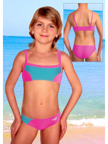 Dívčí plavky dvoudílné PD505fx