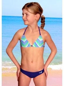 Dívčí plavky dvoudílné PD218v_07+v199x