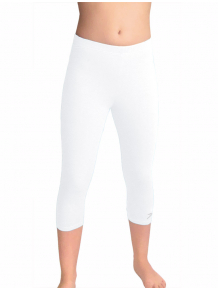 Sportovní legíny 3/4 D36pkx bílá