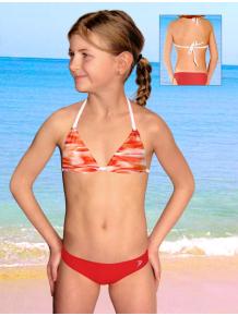 Dívčí plavky dvoudílné PD218v_41-v177x