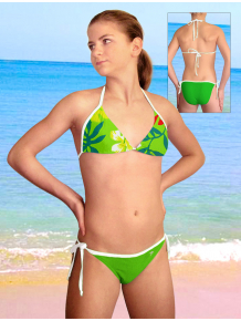 Dívčí plavky dvoudílné PD14v_44-v188x