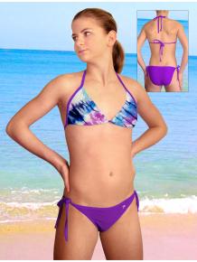Dívčí plavky dvoudílné PD14v_48-v172x