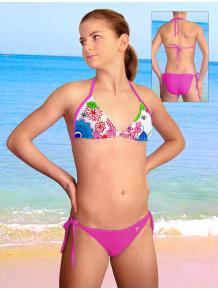 Dívčí plavky dvoudílné PD14v_42-v99x