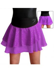 Taneční sukně K806b fialová