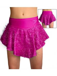 Taneční sukně K802strb růžová