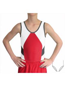 Gymnastický dres chlapecký závodní D37ch-merx140