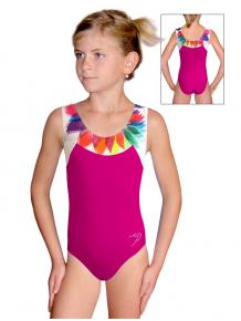 Gymnastický dres závodní D37r-s t201 růžová