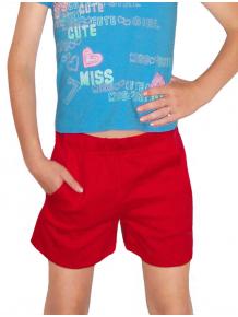 Sportovní šortky s kapsami V36sx červená