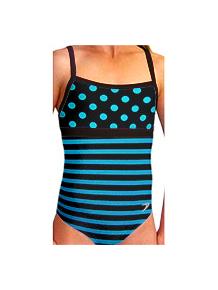 Dívčí sportovní plavky jednodílné PD525vv_2x