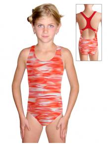 Dívčí sportovní plavky jednodílné PD623 v177