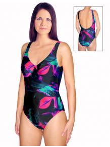 Dámské plavky jednodílné s kosticemi P601cv500