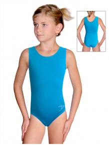 Gymnastický dres B37rgx tyrkysová
