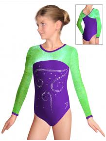 Gymnastický dres závodní D37d-717v297 f27
