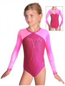 Gymnastický dres závodní D37d-5 v298 f28xx