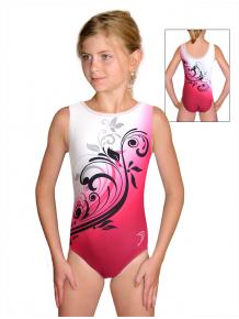 Gymnastický dres závodní D37r t114 růžová