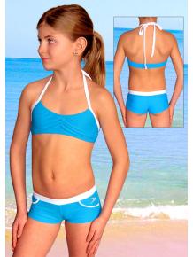Dívčí sportovní plavky dvoudílné PD519x_21+01