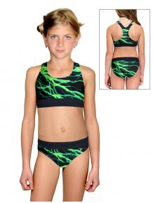 Dívčí sportovní plavky dvoudílné PD662 v512