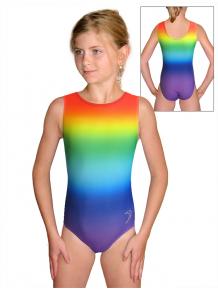 Gymnastický dres D37r t123 duhová