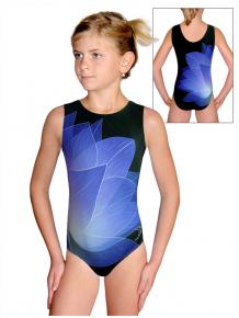 Gymnastický dres D37r t137 černomodrá