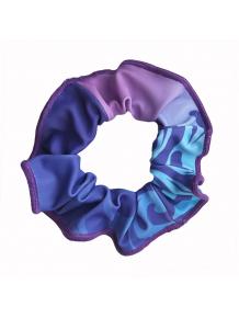Gumička do vlasů  -  t135 modrofialová