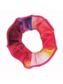 Gumička do vlasů - scrunchie - t105 barevná