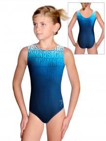 Gymnastický dres D37r t150 modrá