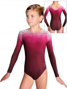 Gymnastický dres D37d t150 růžová