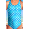 Dívčí sportovní plavky jednodílné PD533v429x