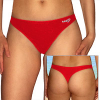 Plavkové  kalhotky tanga P262kalhx červená
