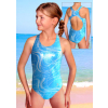 Dívčí sportovní plavky jednodílné PD545v470