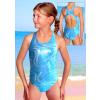 Dívčí sportovní plavky jednodílné PD545v431