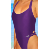 Dámské plavky jednodílné P10 fialová