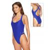 Dámské plavky jednodílné P10 královská modř