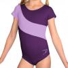 Gymnastický dres B37kk-dv fialová