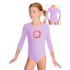 Gymnastický dres B37tr_n46 světle fialová