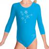 Gymnastický dres B37tr_k311 tyrkysová