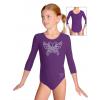 Gymnastický dres B37tr_k310 fialová
