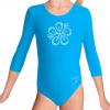 Gymnastický dres S37tr_f4 tyrkysová