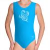 Gymnastický dres S37r-f3 tyrkysová