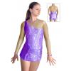 Dres na moderní gymnastiku - trikot M911 fialová
