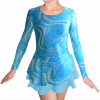 Krasobruslařské šaty - trikot K729v470