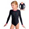 Gymnastický dres závodní D37d-58_F11 černá