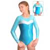 Gymnastický dres závodní D37d-24 tyrkysová